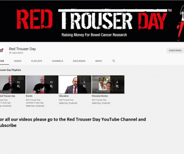 Red Trouser Day YouTube Channel